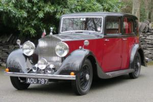 1936 Rolls-Royce 20/25 Barker Saloon GXK15 Photo