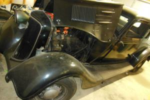 1934 Plymouth Coupe PE delux title classic restore unfinished project car