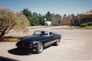 1980 MGB Tourer Passenger Car - Triple Black
