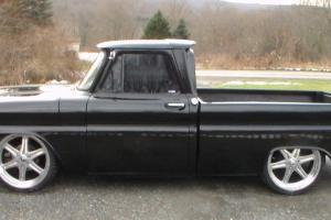 1965 Chevorlet C10 Short Bed Pickup Big Back Window Air Ride Big Block 22's Photo