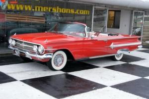 '60 Impala Convertible Red on Red 283 Automatic