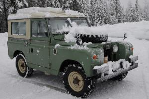 1963 Land Rover Series IIa Photo