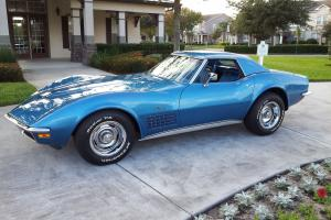 1970 CORVETTE 350/350 TWO TOP CONVERTIBLE MATCHING NUMBER CAR