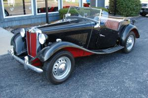 MG-TD, 1952 ORIGINAL CONDITION,  LOW ORIGINAL MILES