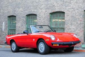 """1978 Alfa Romeo Spider """"Niki Lauda"""" Edition *49K MILES FROM NEW, WELL DOCUMENTED"""
