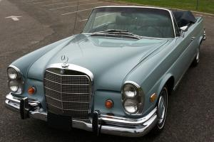 1969 Mercedes-Benz 280SE Cabriolet excellent, restored