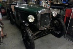 1933 Vintage Austin 7 Seven VSCC trials type short chassis special needs work