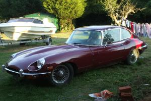 JAGUAR E-TYPE ONE OWNER