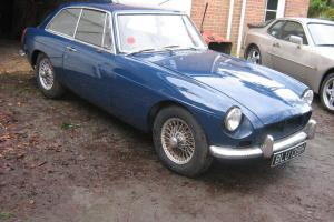 1969 MG B GT BLUE very rare Automatic 1.8 with nice reg
