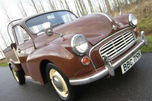 *1971 MORRIS MINOR 6 CWT VAN PICK-UP *** RARE PICK-UP TRUCK - GREAT INVESTMENT*