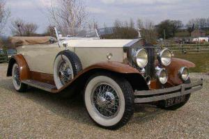 1927 ROLLS ROYCE PHANTOM 1 SPRINGFIELD TOURER LHD SUPERB AUTOMOBILE