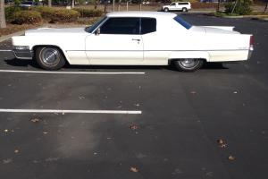 1969 Cadillac Coupe Deville Lowered with FlowMasters. Tinted windows