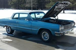 1964 chevy biscayne 2 dr post car super nice and clean