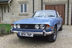 1976 TRIUMPH STAG AUTO BLUE Photo