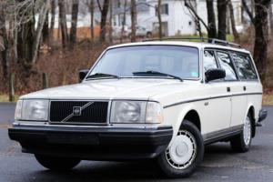 1987 Volvo 240 Wagon 1 OWNER SERVICED Wagon LOW 90K Miles Reliable Rare CARFAX