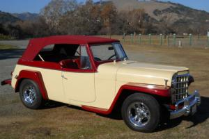 1950 Willys Jeepster Phaeton, upgraded restoration