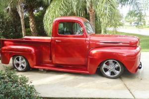 1948 ford f1  Chassis off restoration Retro Rod.
