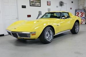 1970 Corvette 454 Big Block Daytona Yellow Automatic 1 Owner - Video