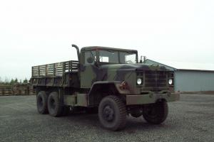 1983 M923 AM General 6X6 Military Cargo Truck