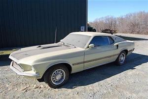 1969 Ford Mustang Mach 1 351 Motor True Barn Finds Matching Numbers
