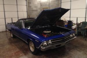 1969 El Camino 350 matching number