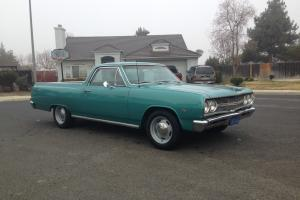1965 Chevrolet El Camino numbers matching AC CAR