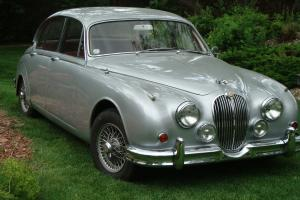 1962 Jaguar MK II, Mark 2 3.8, 4 speed overdrive numbers match WW Silver Maroon Photo