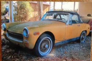 1970 MG Midget Restoration Condition