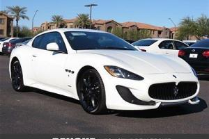 2014 Maserati GranTurismo Sport~White/Black~Located In AZ~Others Available