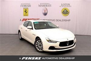 2014 Maserati Ghibli ~ Twin Turbo~Rear Camera~Technology Package~Push Start
