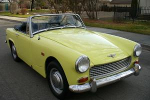 BEAUTIFUL 1969 AUSTIN HEALEY SPRITE MARK IV ROADSTER NICE !!