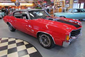 1972 Chevrolet Chevelle SS454 Replica 106 Miles on Complete Restoration Rebuild