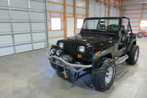 1989 Jeep Wrangler Custom Black - No Reserve!