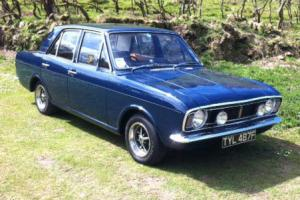 1968 FORD CORTINA MK2 1600E BLUE Series 1 ONLY 32,373 Miles SHOW WINNER