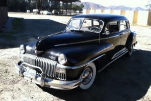 1948 DeSoto Long Wheel Base 7 passenger Jump Seats, 1 owner, unrestored, Calif.