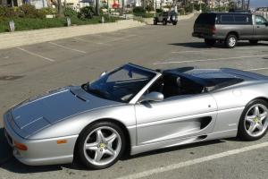 FERRARI 355 SPYDER 15K 1995 MILES NEW VALVE GUIDES SHOW CONDITION NEW CLUTCH