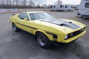 1972 Mach 1 Ford Mustang