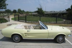 1967 Ford Mustang Convertible 289 V8 Auto w/ Powersteering & Powertop