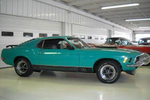 MATCHING NUMBERS 1970 MUSTANG MACH 1 FASTBACK 351ci  4-SPEED MARTI REPORT