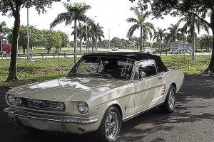 Mustang Convertible, V-8, automatic power steering and brakes, air conditioning