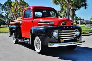 Absolutley beautiful 1950 Ford F-1 1/2 Ton Pick Up Truck stunning restored truck