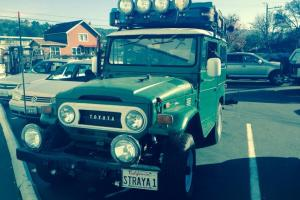Toyota FJ40, Lifted, Solar, Roof Tent, Kitchen Chuck Box, HID lights