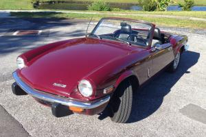 TRIUMPH SPITFIRE 1971 MK IV Clear Title Photo