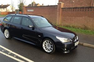 2006 BMW 530D M TOURING AUTO BLACK, STUNNING EXCELLENT CONDITION NO SWAP PX