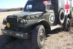 1943 Dodge WC54 US Army Amubulance Survivor from Norway!