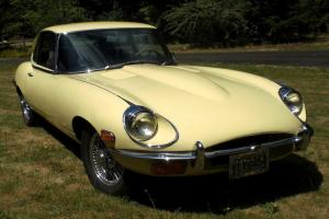 1969 Jaguar XKE Base Coupe 2-Door 4.2L  E type with 8 cylinder engine