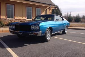 1970 Chevelle Malibu, numbers matching! Solid and rust free! SS clone? PS,PB,A/C Photo