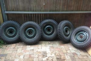 Willys Jeep Wheels in Croa, NSW
