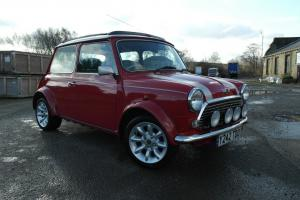 2001 ROVER MINI COOPER SPORT SOLAR RED/SILVER 12 MONTHS MOT & TAX