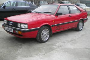 1985 AUDI COUPE QUATTRO RED